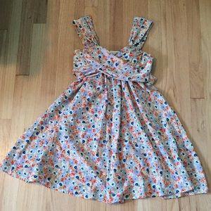 Johnny Martin floral dress